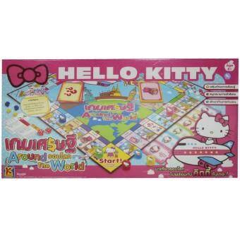 KEAK TOYเกมส์เศรษฐีHELLO KITTYเกมส์เศรษฐีAround The World HELLOKITTY KO732(Pink)
