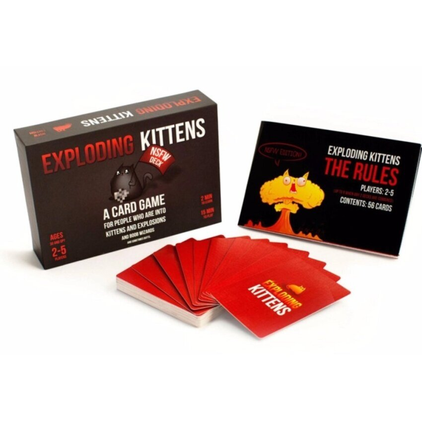 Kittens Cards Board Games Explosion CAT Bumb Kitten Game OriginalVersion Exploding Best Gift for Family PARTY - intl
