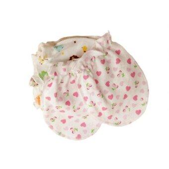 Kurry 100% COTTON GLOVES MITTENS NEW BORN BABY ANIMAL No Scratch cute supplies - intl