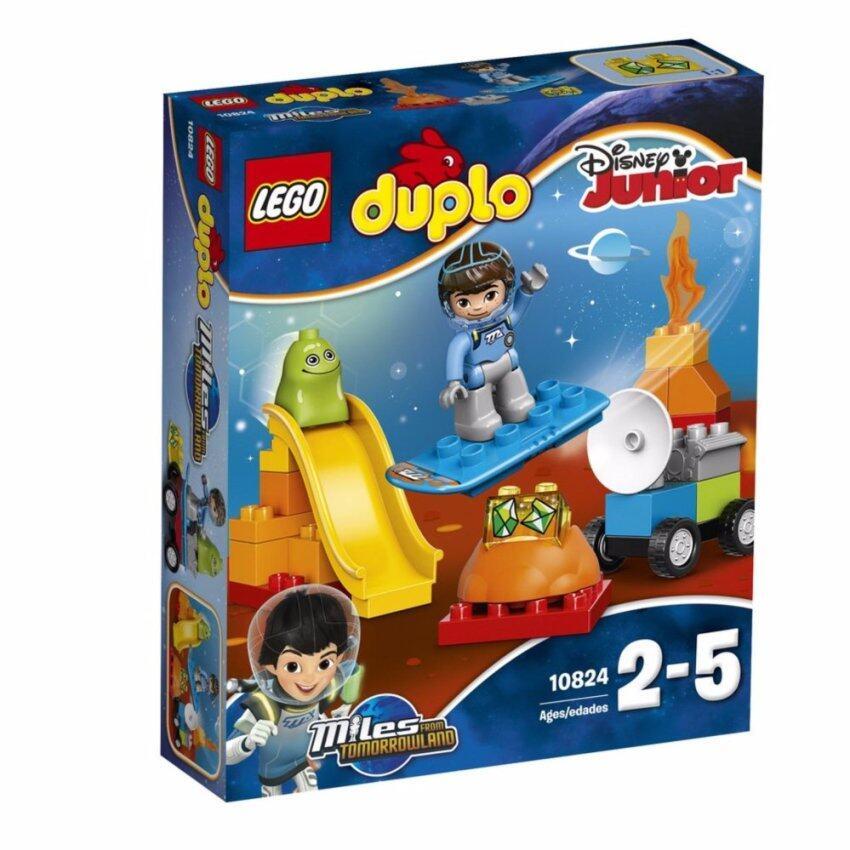LEGO ตัวต่อเสริมทักษะ เลโก้ ดูโปล ไมล์ ไมล์ส สเปช แอ็ดเวนเจอร์ - 10824