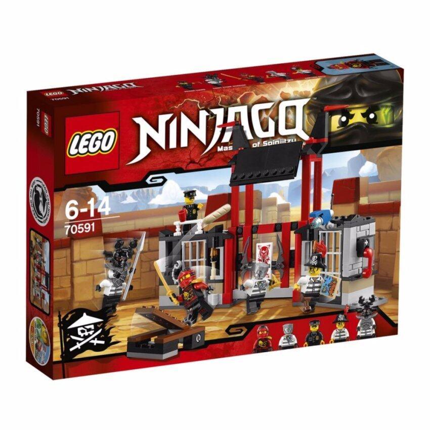 LEGO ตัวต่อเสริมทักษะ เลโก้ นินจาโก คริปเทเรี่ยม ไพรซั่น เบร็คเอาท์ - 70591