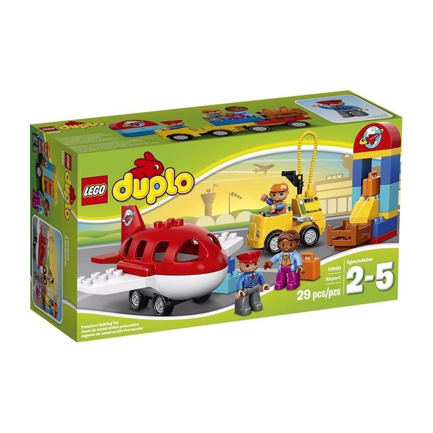LEGO DUPLO Airport 10590, Preschool, Pre-Kindergarten Large Building Block Toys for Toddlers
