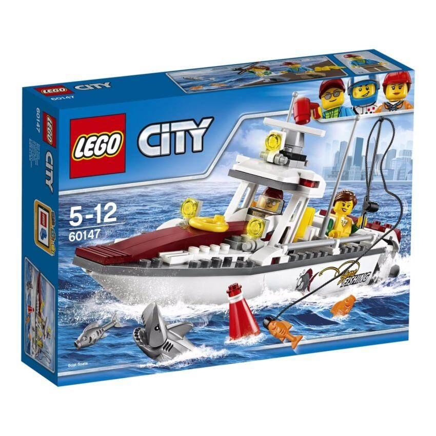 LEGO ตัวต่อเสริมทักษะ เลโก้ซิตี้ เกรท เวฮิเคิลส์ฟิชชิ่ง โบ๊ท Fishing Boat - 60147