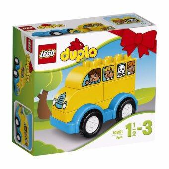 LEGO ตัวต่อเสริมทักษะ เลโก้ ดูโปล มาย เฟิร์ส บัส My First Bus - 10851