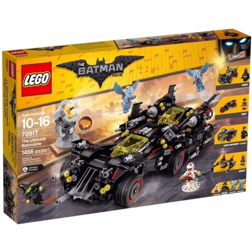LEGO The Lego Batman Movie 70917 The Ultimate Batmobile