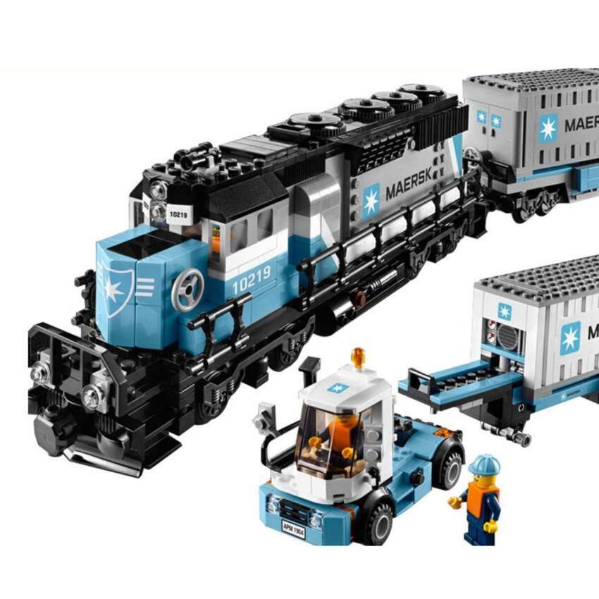 LEPIN Creators ชุดรถไฟขนส่ง Maersk Train จำนวน 1,234 ชิ้น