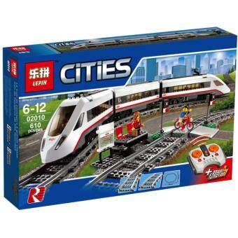 ชุดตัวต่อ เลโก้จีน LEPIN02010 High-Speed Passenger Train ในชุดสะสมCity