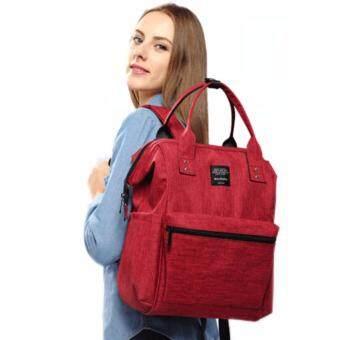 love shoppe about baby bag red color 1505826213 17488544 35fefd71d5e39794e633416ce79b8f67 product ลดราคา Love Shoppe กระเป๋าเป้สะพายหลังสำหรับคุณแม่ กระเป๋าเป้อเนกประสงค์ กระเป๋ใส่ของเด็ก กระเป๋าใส่ผ้าอ้อม ขวดนม  สีแดง   About Baby Bag Red Color