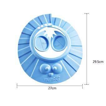 Mambo หมวกกันแชมพู รุ่นปิดหู (สีฟ้า) - 3