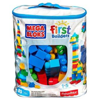 Mega Bloks 80-Piece Big Building Bag  Classic
