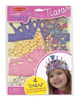 Simply Crafty Tiaras ชุดประดิษฐ์ DIY มงกุฏ 4 อัน