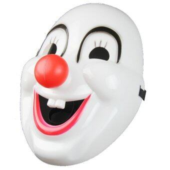 MIRAGE-SHOP หน้ากาก ตัวตลก Clown Mask With Red Nose