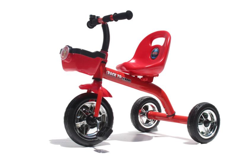 MKT รถสามล้อเด็ก มีตะกร้า (แดง)