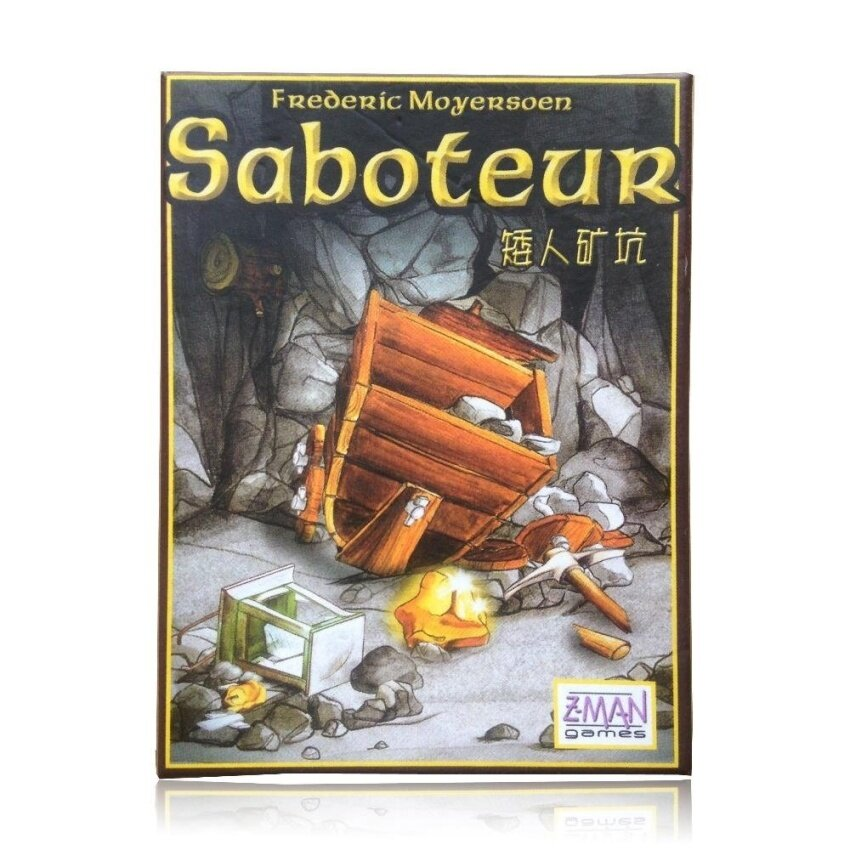 Multiple Language Rules Saboteur 1/ Saboteur 2 Expansion Simple Pack Cards Game Table Game Board Game - intl image