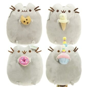 Harga New Best Kawaii Brinquedos New Pusheen Cat Cookie 5 Styles StuffedDoll Plush Animals Toys For Kids Baby Girls Gift L1313 - intl
