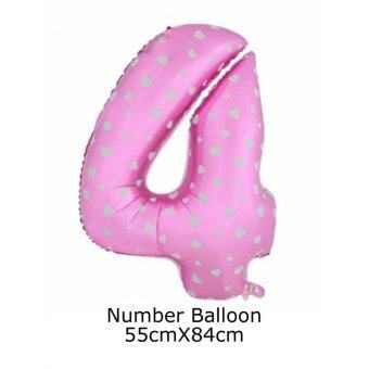 Number Helium Balloon Aluminum Foil Balloons For Birthday PartyWedding Decoration Ball 32 - intl