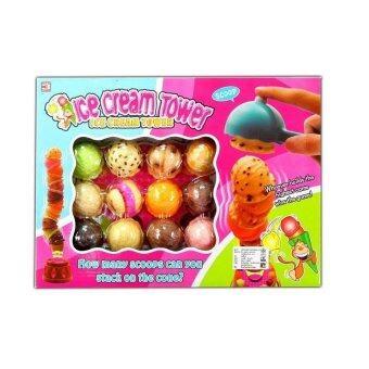 One Toys ice cream tower เกมส์ตักไอศครีม
