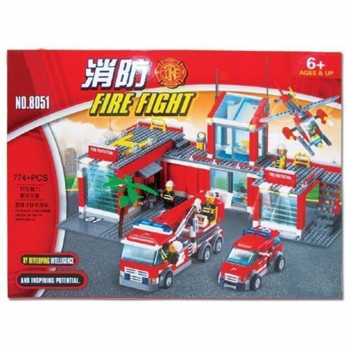 Play Us ตัวต่อสถานีดับเพลิง 774 ชิ้น รุ่น 8051