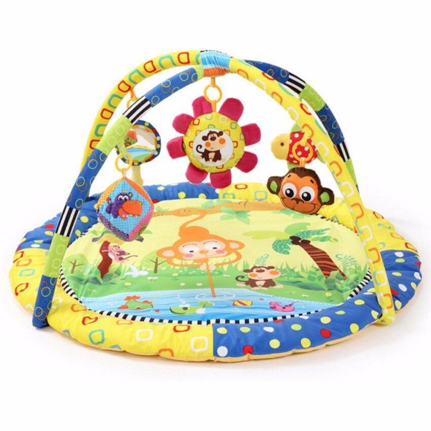 เพลยิมโมบายผ้าเนื้อนุ่มนิ่มของเล่นเสริมพัฒนาการเด็ก