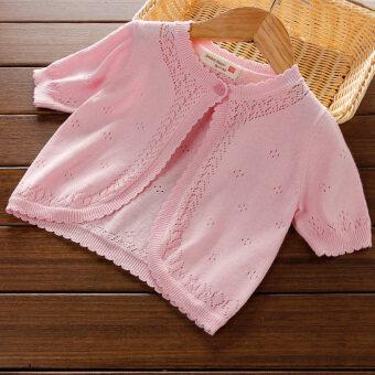 ทารกในช่วงฤดูร้อนส่วนบางเวตเตอร์ถักผ้าคลุมไหล่ขนาดเล็ก