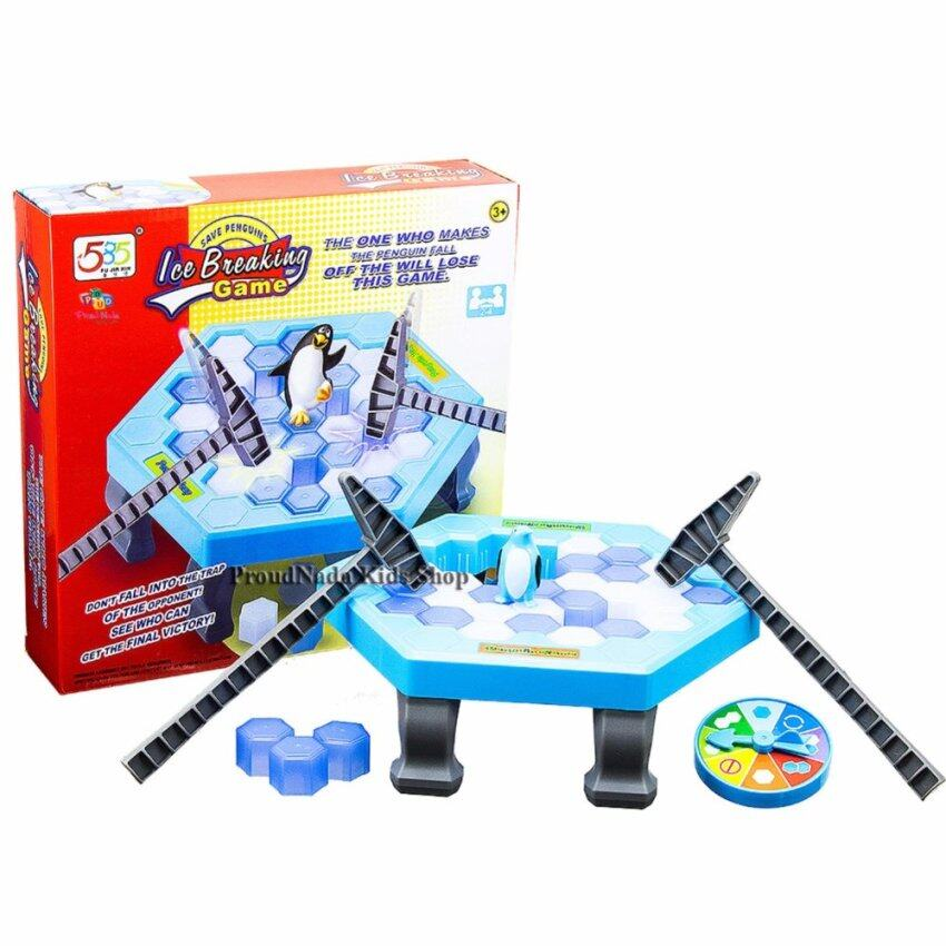 ProudNada Toys ของเล่นเด็กเกมส์แพนกวิ้นทุบน้ำแข็ง 585 FU JIA XIN SAVE PENGUINS Ice Breaking Game NO.585-881A
