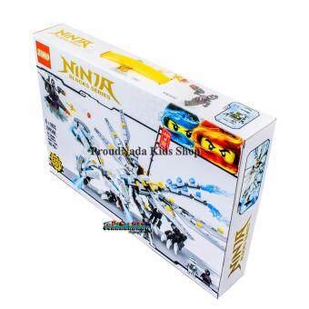 ProudNada Toys ของเล่นเด็กชุดตัวต่อเลโก้นินจา(กล่องใหญ่สุดคุ้ม)ZIMONINJA BLOCKS SERIES 393 PCS ZM2500 - 3