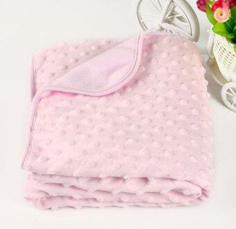 PURISS Baby Blanket Newborn Thermal Soft Knitted Fleece BlanketSwaddling Bedding Set - intl - 3