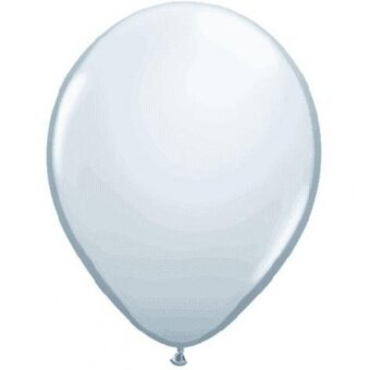Qualatex 11 White Latex Balloons (10ct) - intl