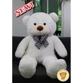 RADA ตุ๊กตาหมี ตัวใหญ่ ขนาด 1.2 เมตร (สีขาว) ผลิตในประเทศไทย