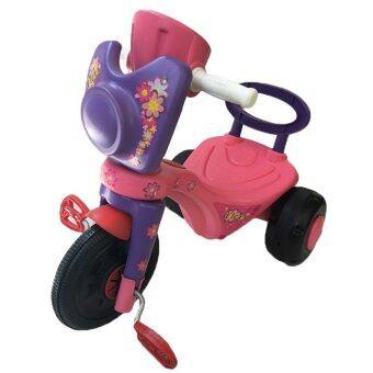 Rctoystory จักรยาน 3 ล้อ ปั่น หนา (สีชมพู)