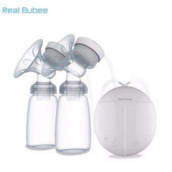 Harga Real Bubee Electric Automatic Dual Breast Pump With BPA-FreeBottles - intl