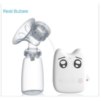 Harga Real Bubee Smart Memories Auto Breast Milk Feeding Pump - intl