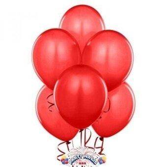 ROCHU 12 Inch Red Latex Balloons - intl