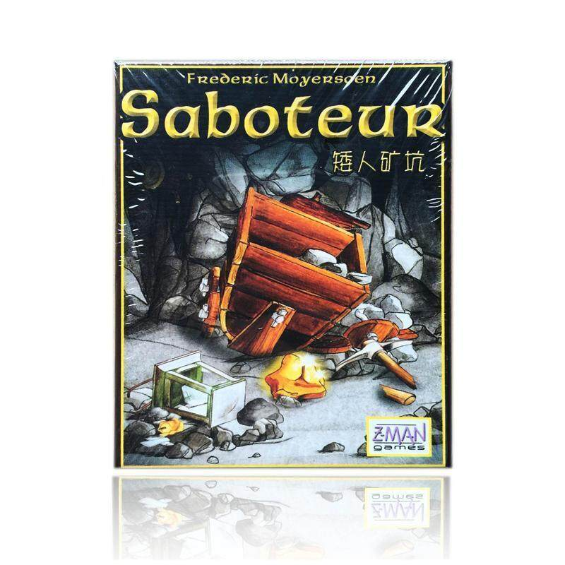 Saboteur Card Game for 3-10 Players Board Game Table Game Christmas Gift for Children and Friends Party Play - intl