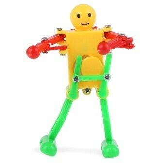 SH Clockwork Spring Wind Up Dancing Robot Toy Gift for Children Kid - intl