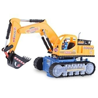 SH Flashing Wheel Musical Excavator Builder Machine Car Toy for Children - intl