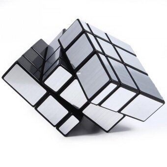 Shengshou Mirror Surface Rubik`s Puzzle Magic Cube Puzzle in Silver- intl
