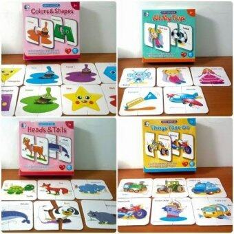 SK-Toys จิ๊กซอว์บัตรคำ ชุด Colors and Shapes