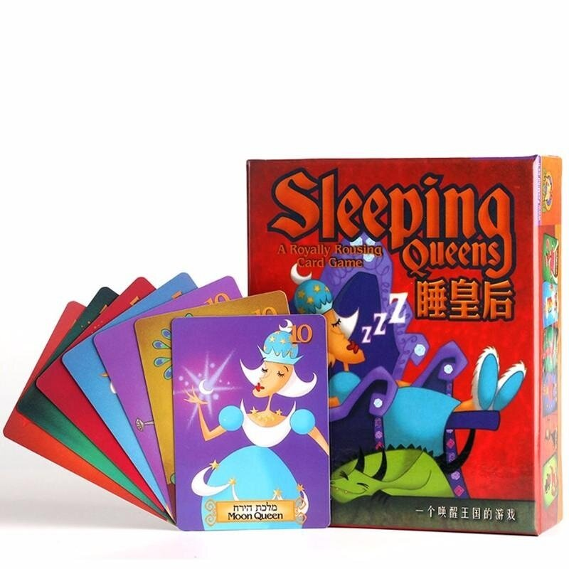 Sleeping Queens Children'S Educational Toy Card Game Board Games Party Kids Toys - intl