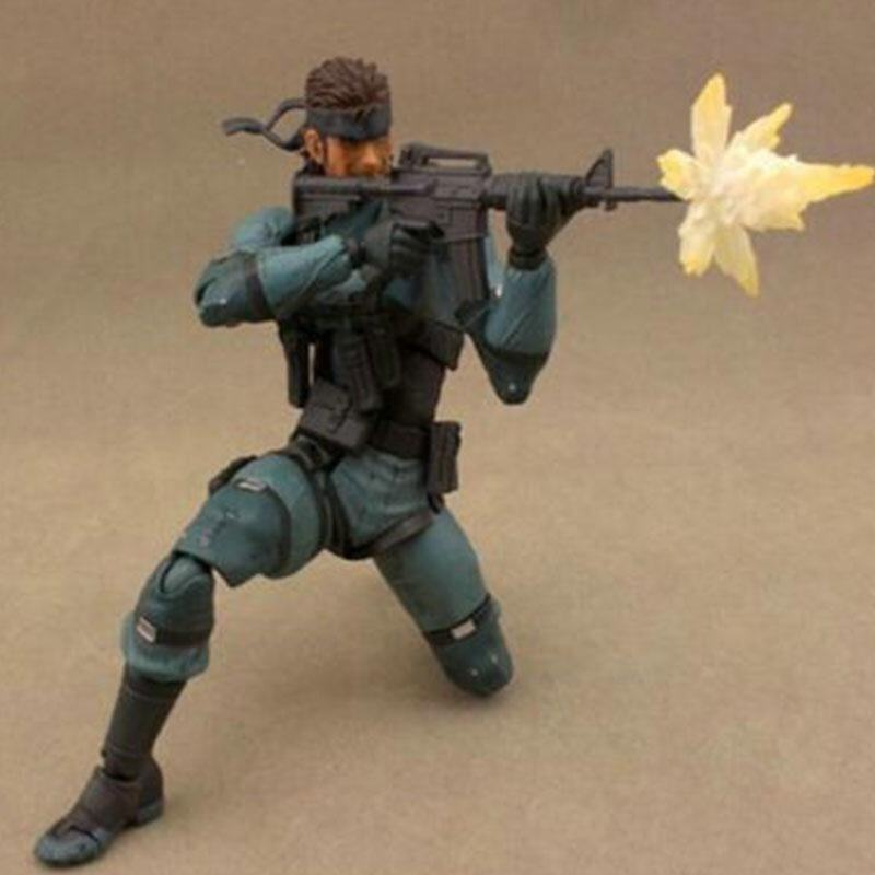 Snake Metal Gear Solid 2 Sons of Liberty Action Figure Models Decoration Toys - intl image