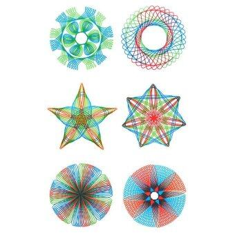 ... Spirograph Geometric Ruler Creative Students Drafting Drawing KitKids Toys Set intl 2