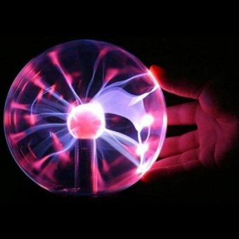Harga Static 3-inch USB Magic Lighting Ball Magic Lamp Magic Ball Anion Electrostatic Plasma Ball Lights Decoration Table Light Crystal Lamp Magic Toys - intl