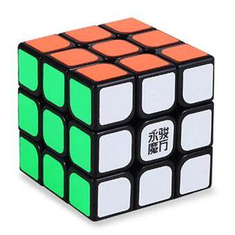 [Stock YJ] Speed Dragon Professional Rdy Rubik Cube Smooth Puzzle3x3 -Black - intl