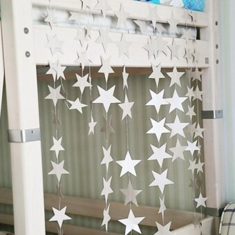 Harga Sunshop Wedding Birthday Party Lovely Small Stars Room DecorationPull Flowers 4M - intl