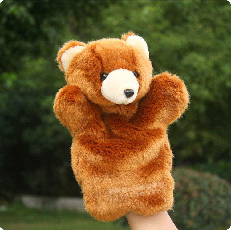 หุ่นยนต์ตุ๊กตาถุงมือหมีTeddy ของเด็ก