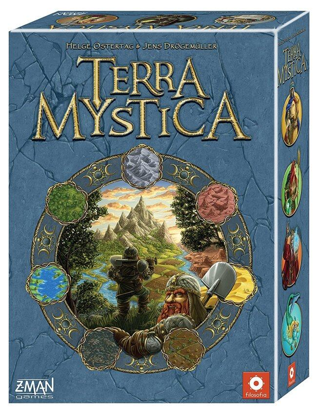 Terra Mystica 2012 Edition Board Game