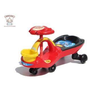 ดุ๊กดิ๊กตะกร้า มีเสียง (สีแดง) 1672 Sliding Ride-on