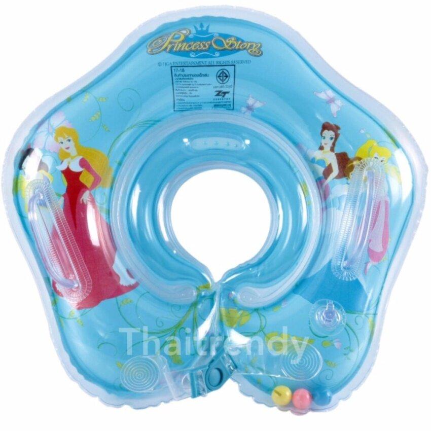 ThaiTrendy ห่วงยางสวมคอเด็กทารก ลาย Princess Story