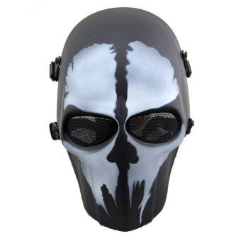 The Call of Duty COD Skull Ghost Adult Full Mask Hood for CosplayCS Halloween