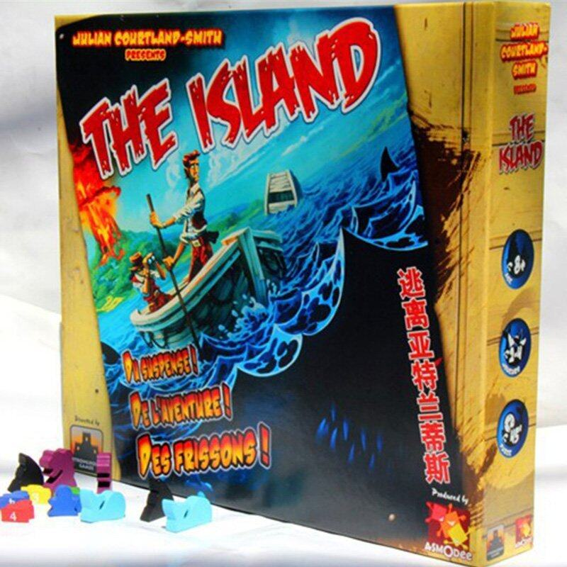 The Island Board Game Survive Game - intl